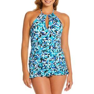 Catalina Swimsuit Halter Swimdress High Neck Swim